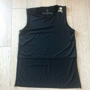 SOUL CYCLE High-low Workout Crop Top